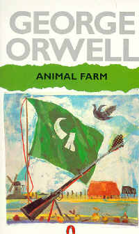 Sampul Animal Farm-nya Orwell