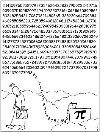Non-stop Pi